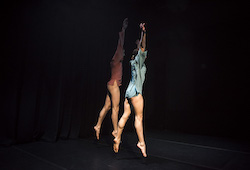 Rhiannon Newton's 'We Make Each Other Up'. Photo by Gregory Lorenzutti for Dancehouse.