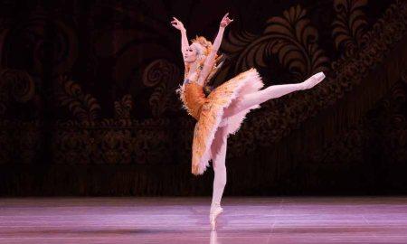 The Australian Ballet's Rina Nemoto in 'The Sleeping Beauty'. Photo by Kate Longley.