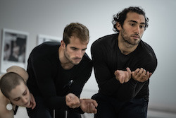 Dimitri Kleioris (right). Photo by Pedro Greig.