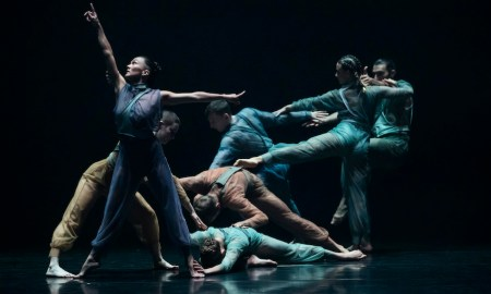 SDC in Gabrielle Nankivell's 'Neon Aether'. Photo by Pedro Greig.