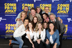 The Australian cast of 'Come from Away'. Photo by Andrew Tauber.