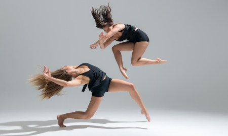 NZSD 3rd Year Students Alessia Augello and Cheyanne Teka. Photo by Stephen A'Court.