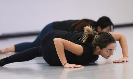 The McDonald College's Senior Contemporary Dance Program. Photo by Erik Sawaya.