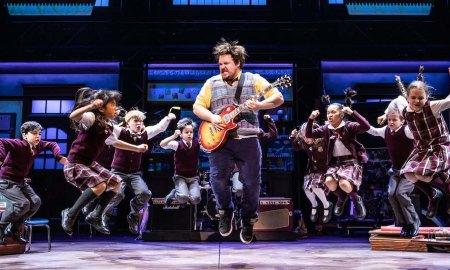 'School of Rock'. Photo by Matthew Murphy.