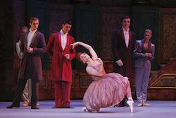 Jill Ogai in The Australian Ballet's 'Cinderella'. Photo by Jeff Busby.