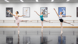 International Ballet Workshops. Photo by Chris Dowd Photography.