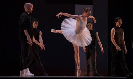 Robert Curran with Company Dancer Ashley Thursby. Photo by Sam English.
