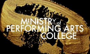 Ministry of Performing Arts College logo.
