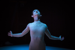 Juliet Burnett in Melanie Lane's 'Re-make' at Chunky Move. Photo by Gregory Lorenzutti.