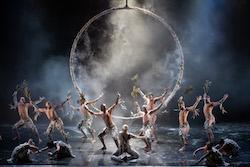 Bangarra Dance Theatre in 'Bennelong'. Photo by Daniel Boud.