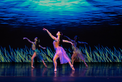 Victorian State Ballet in 'The Little Mermaid'. Photo by En Pointe Productions.