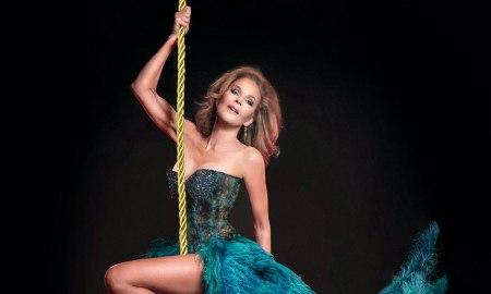 Rhonda Burchmore in 'Cabaret De Paris'.