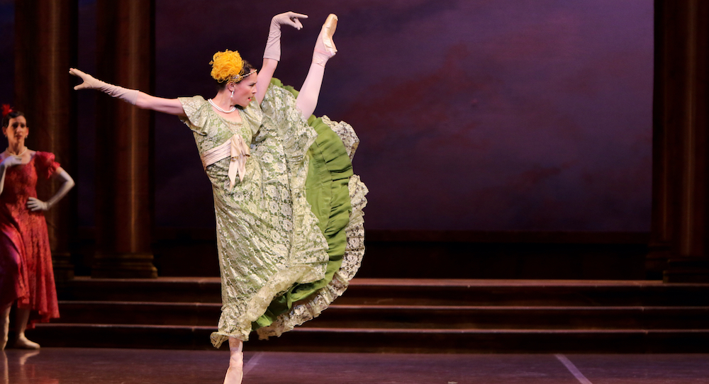 Melissa McCabe in 'Cinderella'. Photo by Emma Fishwick.