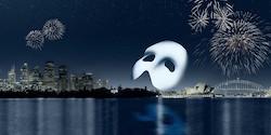 'Phantom of the Opera' on Sydney Harbour.