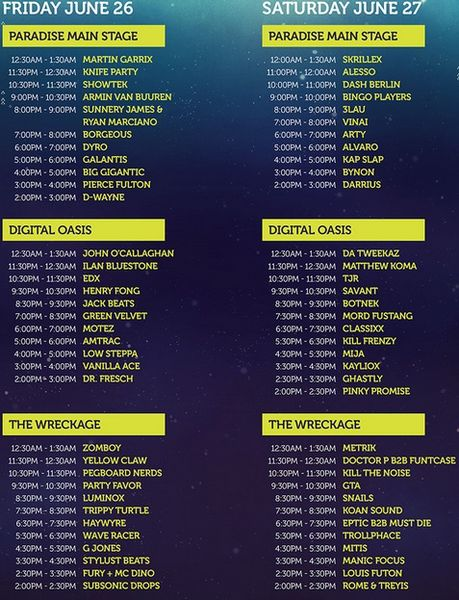 paradiso set times_result