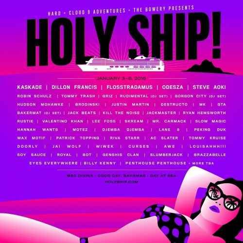 Holy Ship Weekend 1 2016