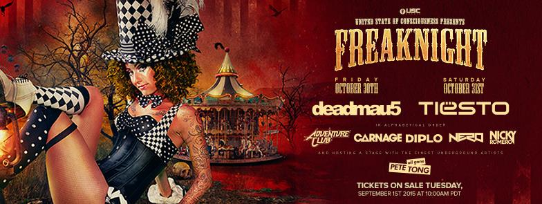 Freaknight 2015 Phase 1 Lineup