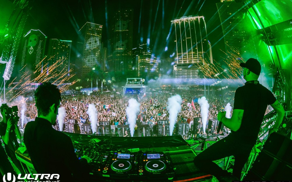 Photo: Rukes knife party ultra 2016