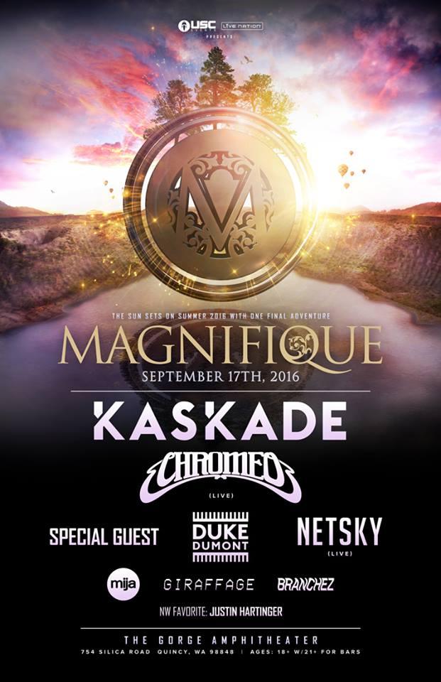 magnifique lineup official