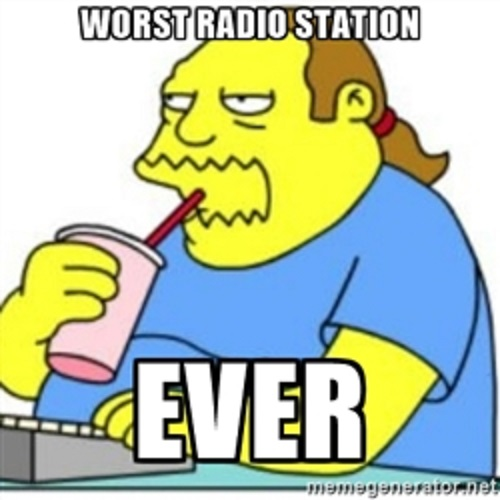 Comic Book Guy, Radio