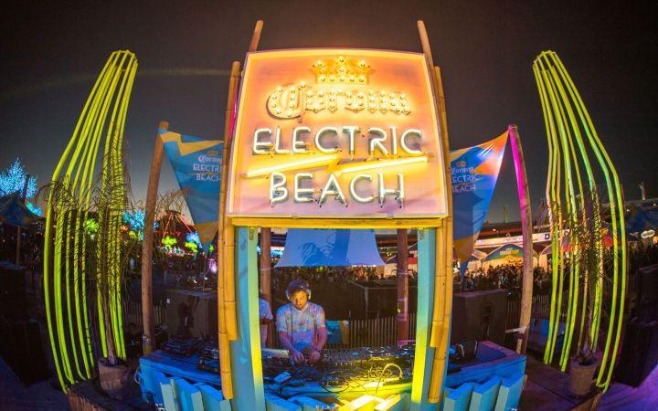 EDC Corona Beach Stage