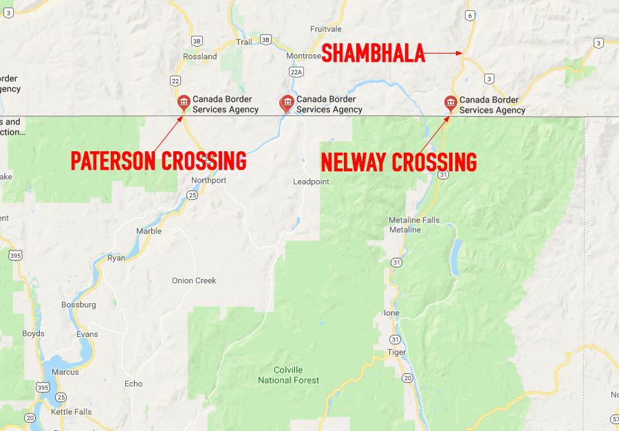 Border crossings into Shambhala