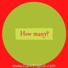 uso de la palabra interrogativa how many delgles in