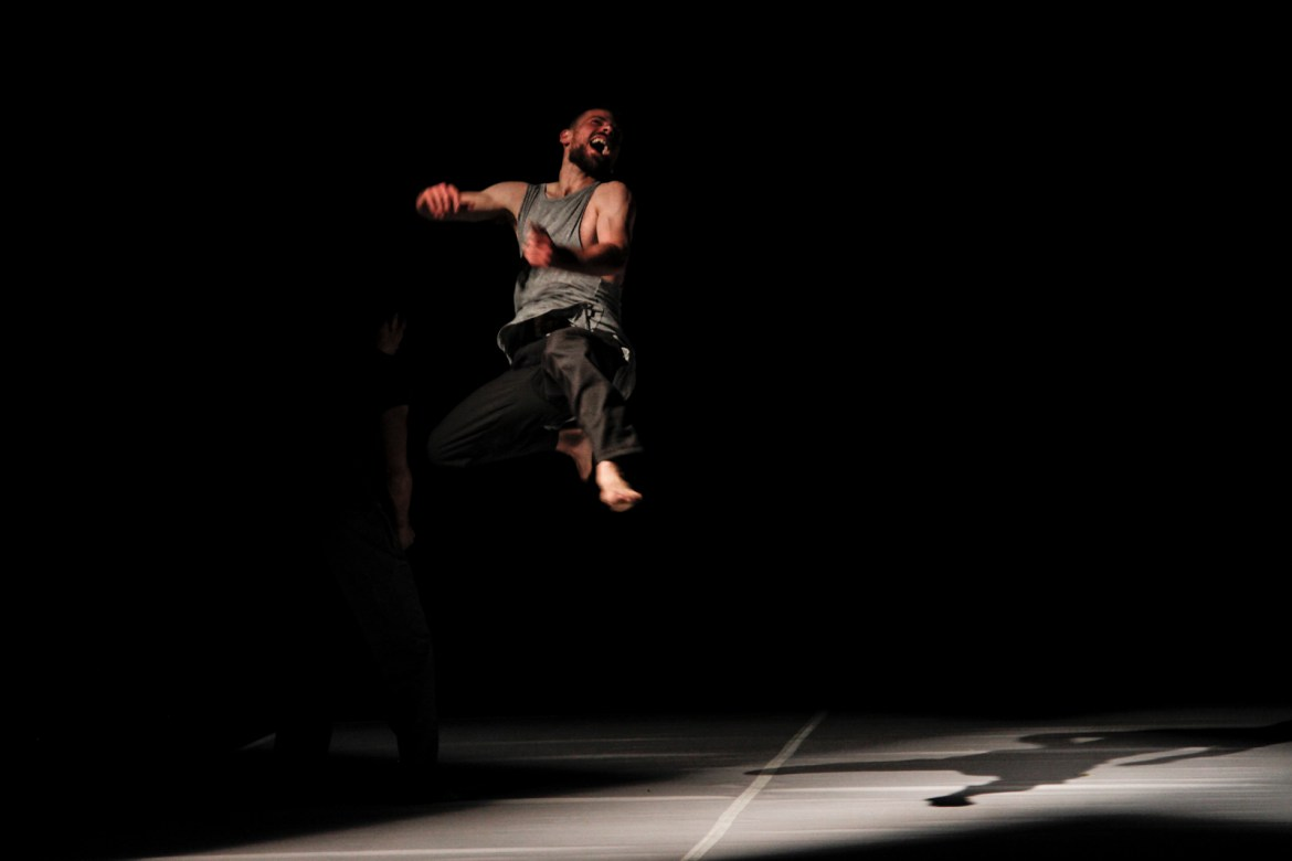 "Performance of ""Walkabout"" - premiered in Catania, Italy (Courtesy of Elia Mrak)"