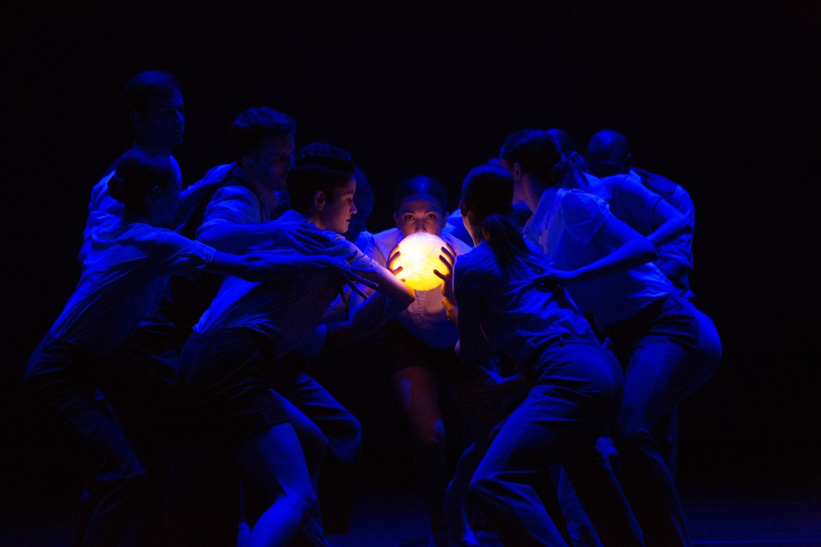 "The Big Muddy Dance Company in Brian Enos' ""Words of Wonder"" (Photo by Gerry Love)"