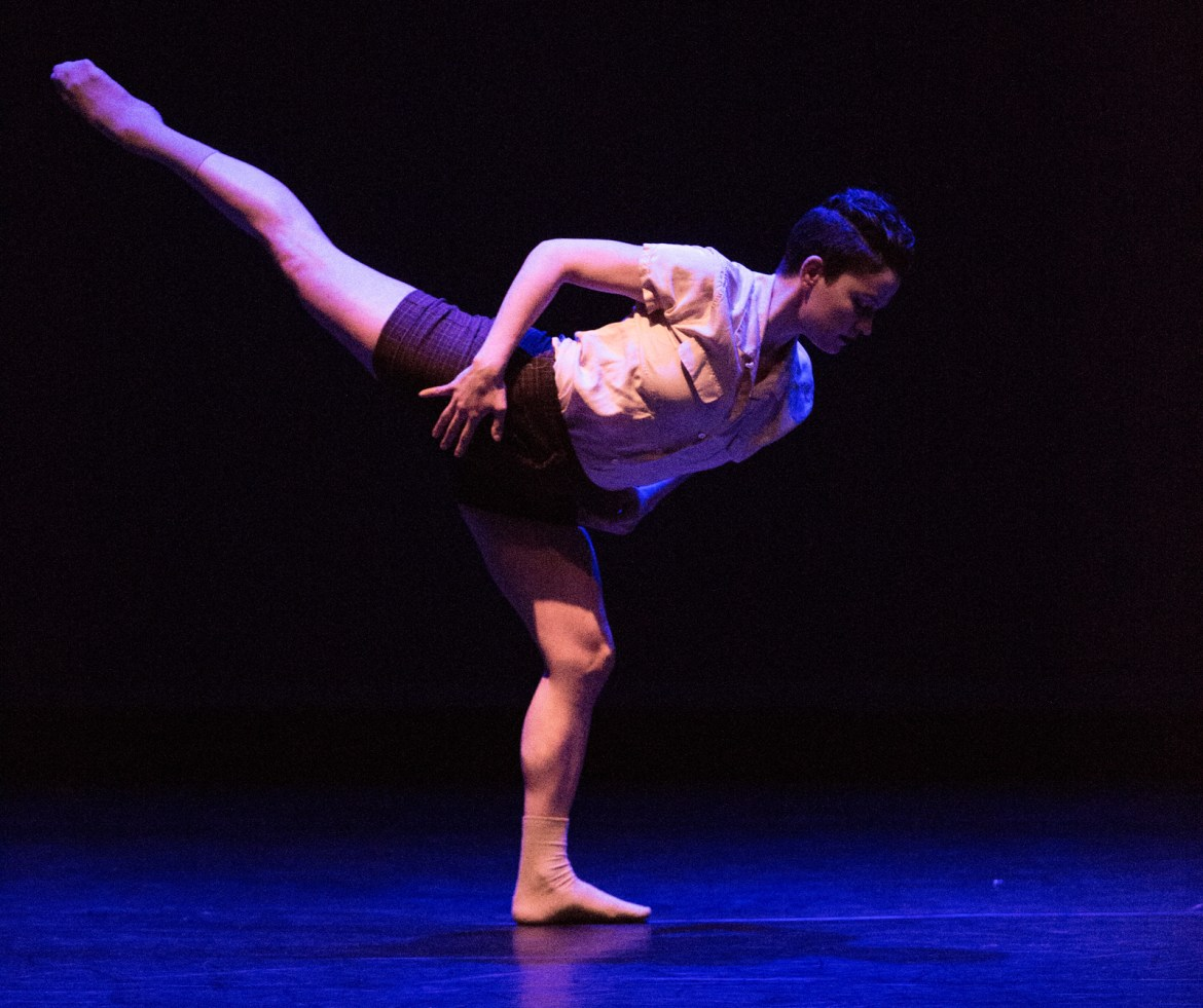"""The Big Muddy Dance Company in Brian Enos' """"Words of Wonder"""" (Photo by Gerry Love)"""