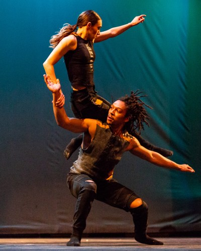 Chicago Dance Crash's KC Bevis and Elijah Motley (Photo by Philamanjaro)