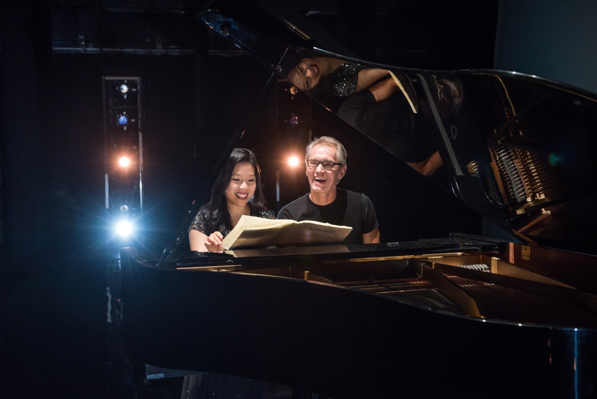 Joyce Yang and Jorma Elo (Photo by Michele Cardamone)