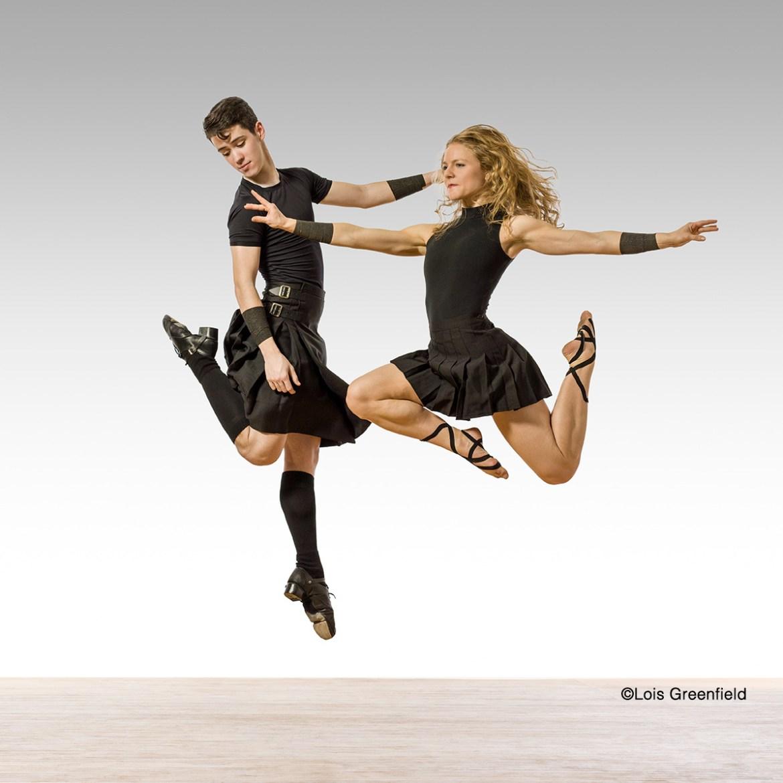 Trinity Irish Dance - Aaron Wolf and Chelsea Hoy (Photo by Lois Greenfield Dance)