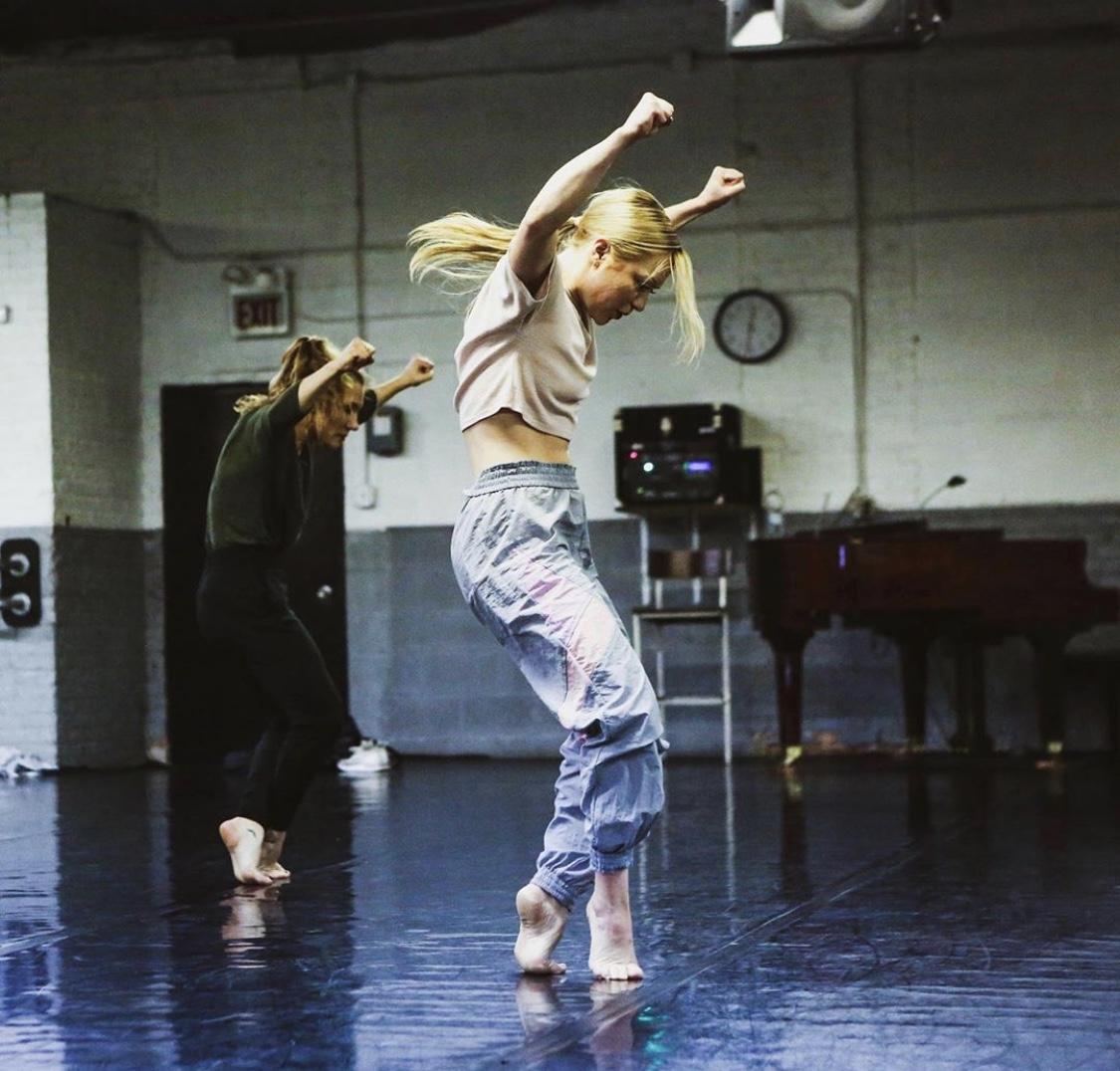 Hanna Brictson in rehearsal_Katie Miller Photography