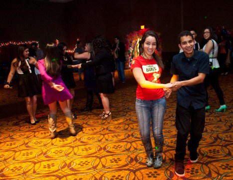 ballroom dancing teenagers