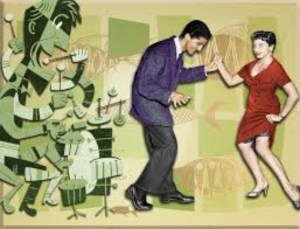 Swing dancing was very popular on American Bandstand.