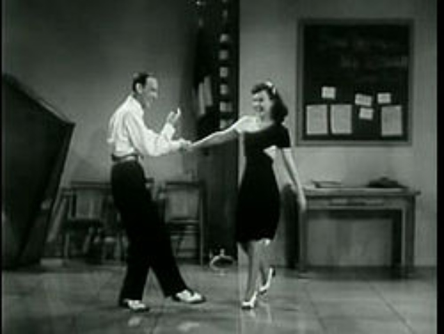 fred astaire teaching