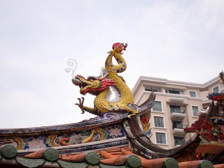 nian at chinese new year parade