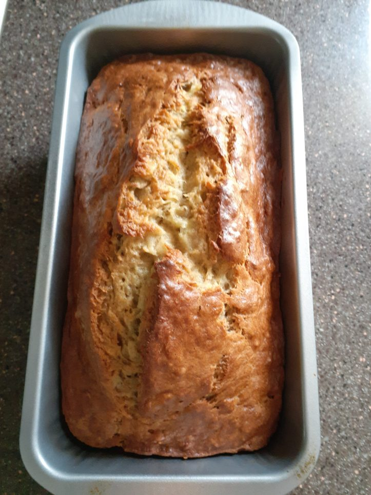 no mixer banana bread results