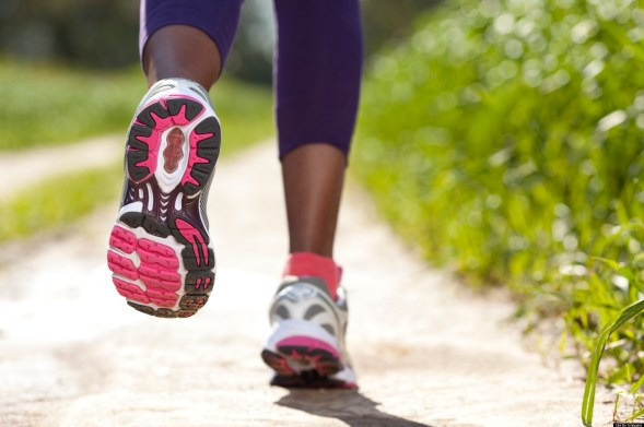 Make one good step and start a running routine.