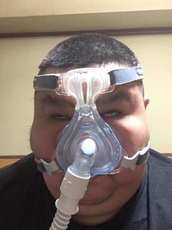 無呼吸症候群マスク
