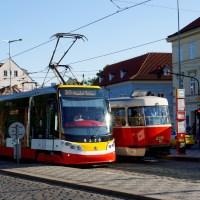 Tramwajem przez Pragę