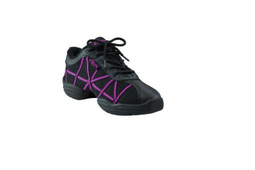 WEB DS19 Black/Pink, Sneakers de jazz CAPEZIO Enfant, WEB DS19 BLACK/PINK, Sneakers de danse jazz CAPEZIO, danceworld, bruxelles.