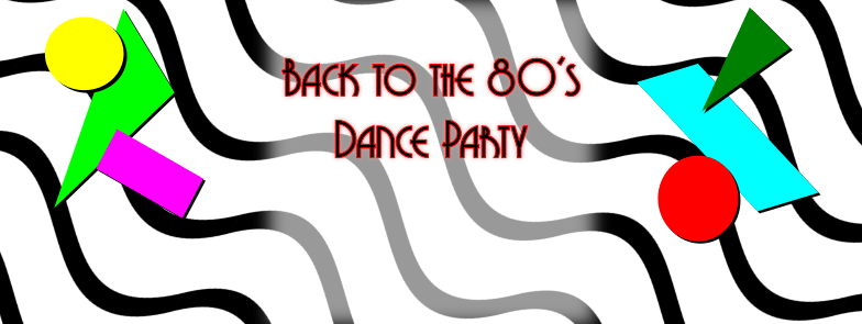 80's party header