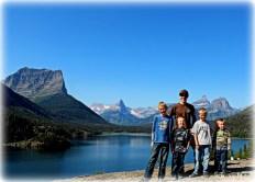 Boys in Glacier