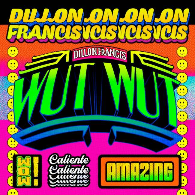 Dancing Astronaut's Top 10 Albums of 2018Dillon Francis WUT WUT Album Art