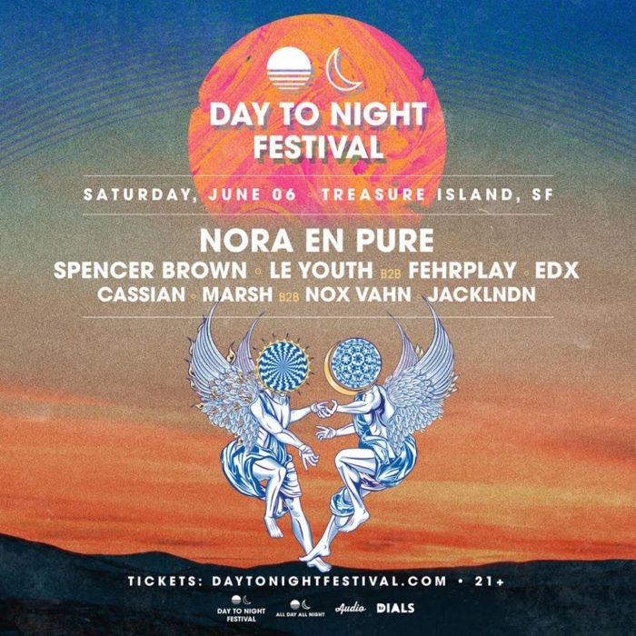 Nora En Pura, EDX, Spencer Brown lead debut lineup for new Bay Area event, Day To Night Festival85021527 169186811170901 7225113286637780992 O