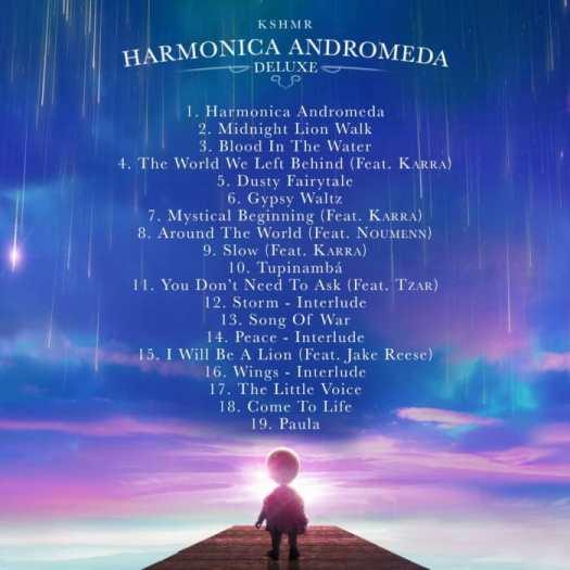 KSHMR shares new 'Harmonica Andromeda Deluxe' cut with TZARKshmr Delue
