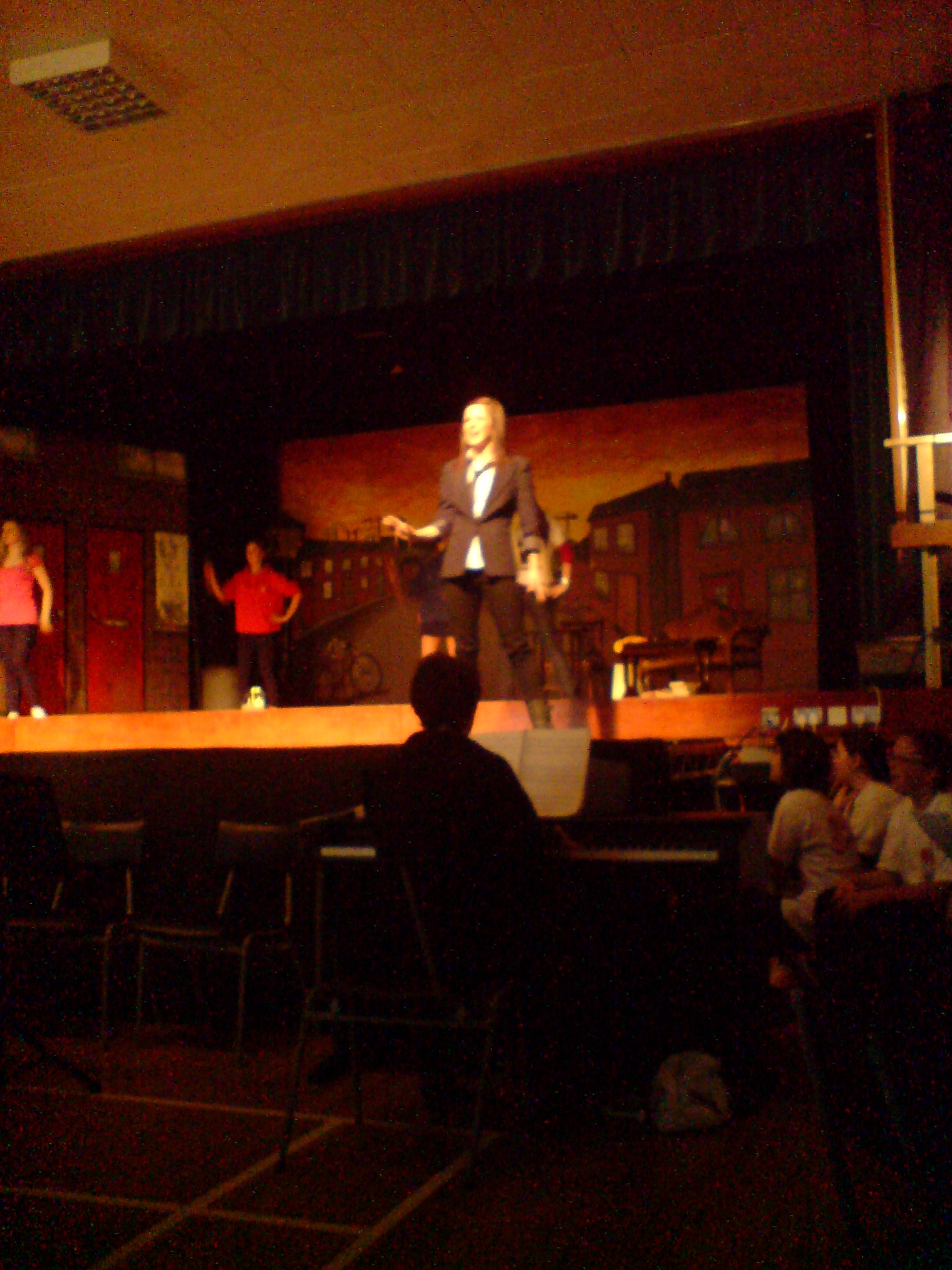 Jem singing the Madman song from Blood Brothers