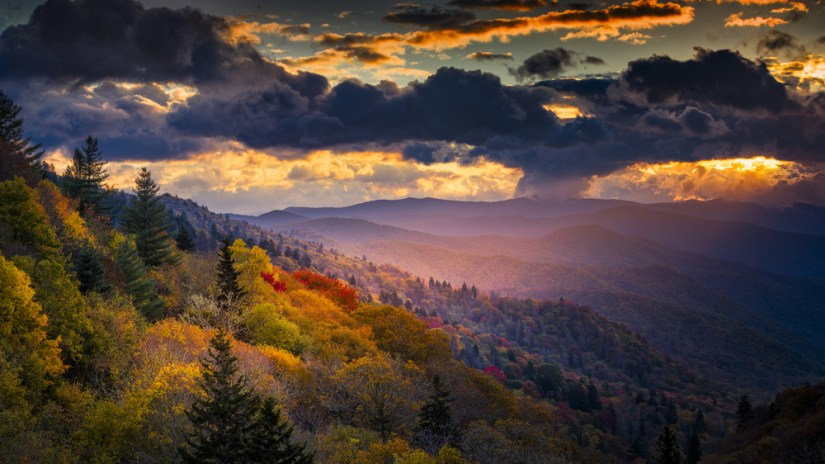 Autumn, Seasons in the Smokies